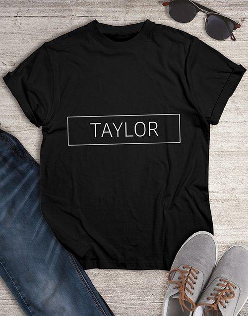 birthday Personalised Name T Shirt