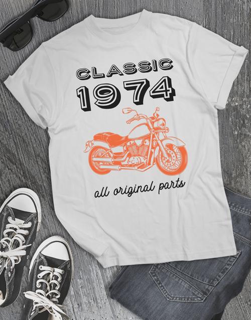 birthday Personalised Classic Year T Shirt