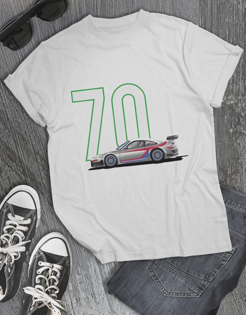birthday Personalised Year Car T Shirt