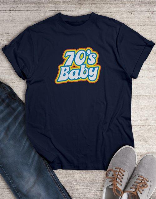 birthday 70s Baby T Shirt