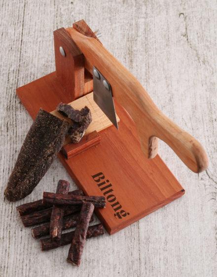 birthday Wooden Biltong Cutter