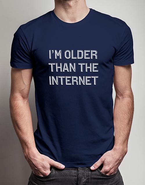 birthday Older Than the Internet T Shirt