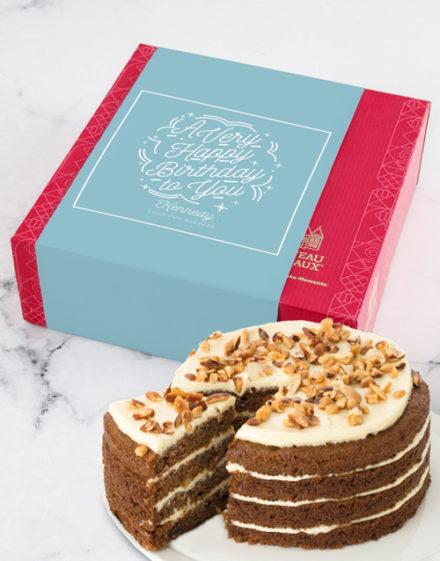 cakes Personalised Chateau Gateaux Birthday Cake