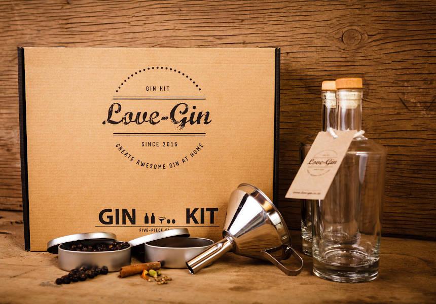 Love Gin 5 Piece DIY Gin Kit