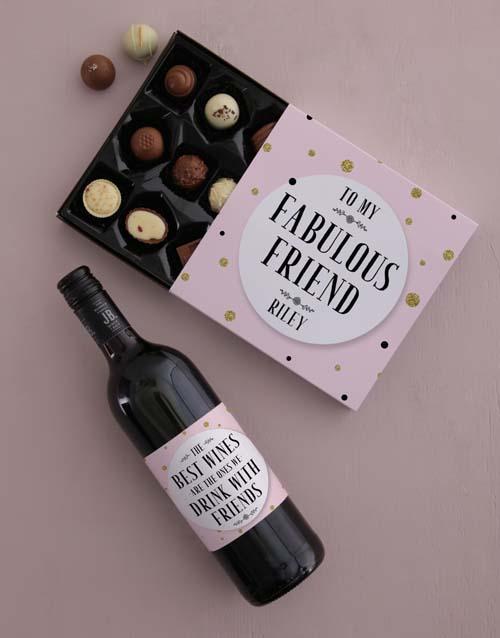 Personalised Fabulous Friendship Assortments