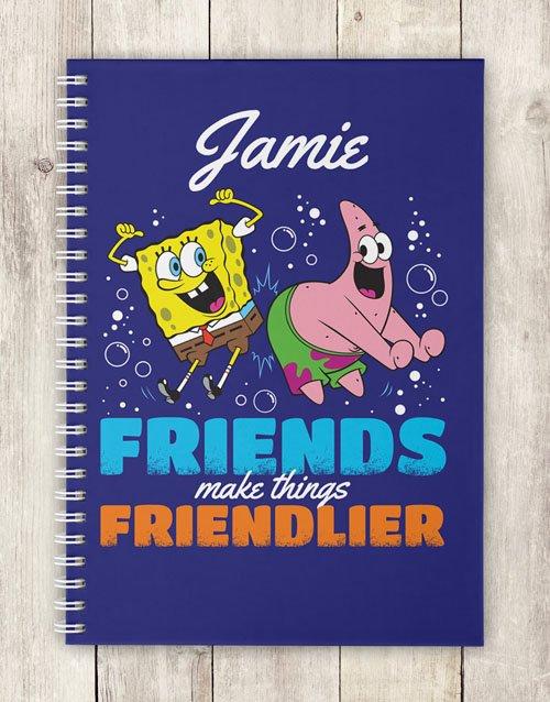 Personalised Friends Make Notebook
