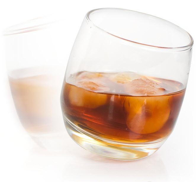 Rocking Whiskey Glasses (6 pack)