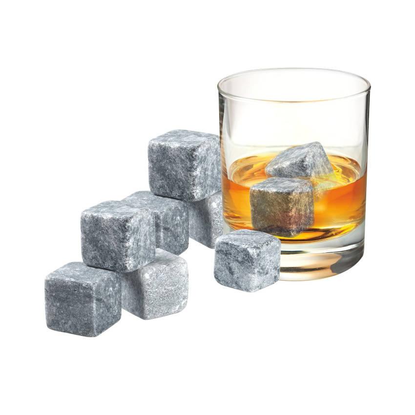 Whisky Stones - Set Of 9 (Grey)