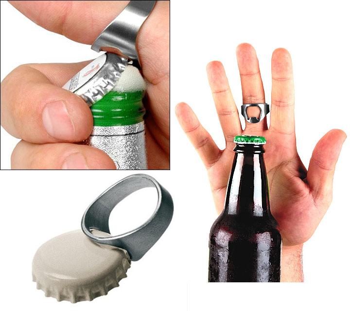 Beer Bottle Opener Ring