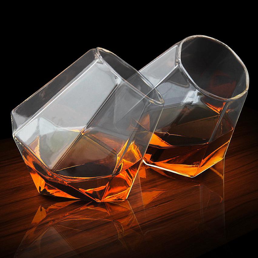 Diamond Whiskey Glasses Set (2 pcs)