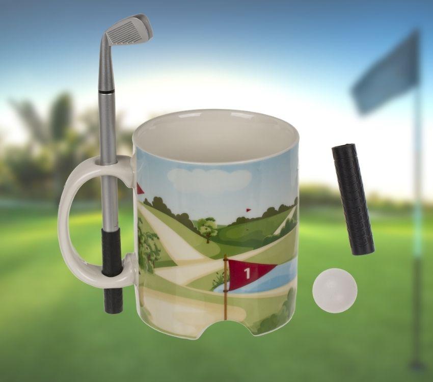 Putter Cup Golf Mug & Pen Set
