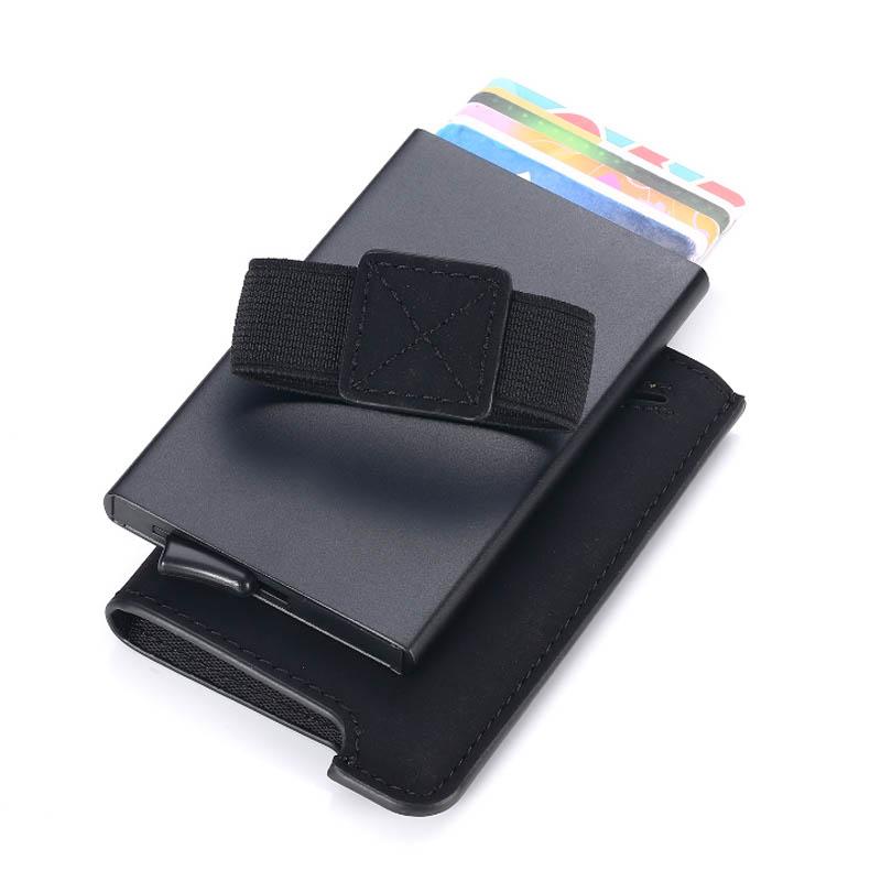 Slim Pop-Up Card Wallet in Sleeve