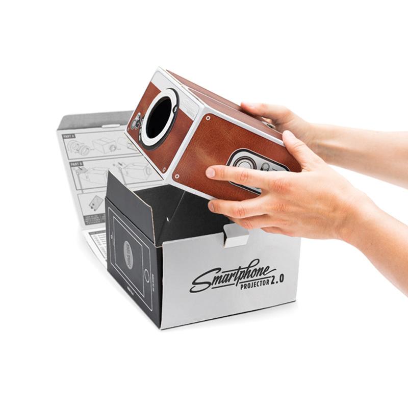 Smartphone Projector 2.0 (Cinema in a Box)
