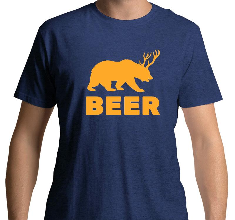 Beer Deer T-shirt